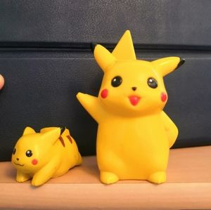Other - Two Pikachu figurines